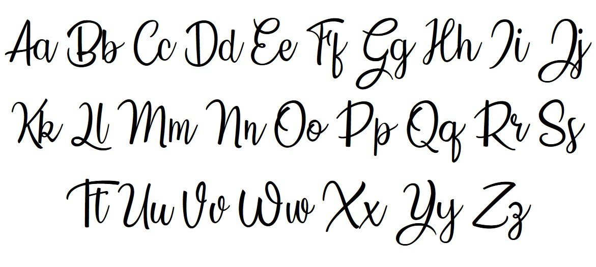 CountrySide Font View