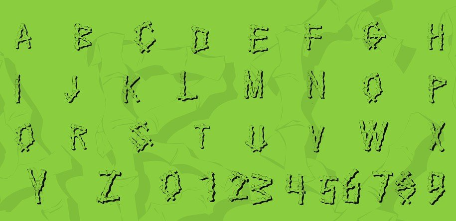 Bamboo Font View