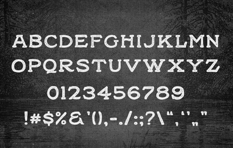 Black Willow Font View