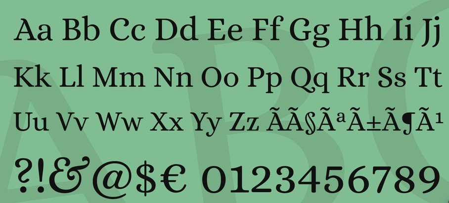 Alice Font View