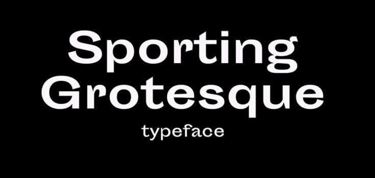 Sporting Grotesque Font